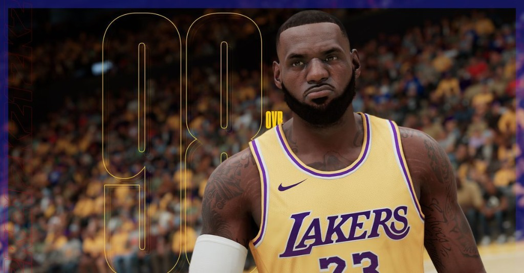 Every Lakers' rating in NBA 2K21