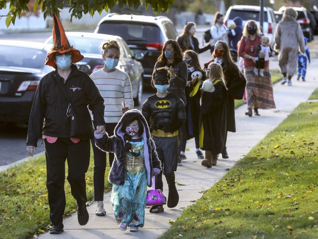 In our opinion: Halloween is scary enough without COVID-19 spiking in Utah