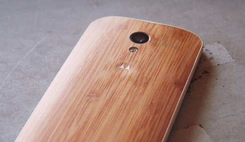 Motorola finally offering 'natural' backplate options for Moto X starting with bamboo