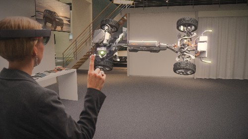 Microsoft and Volvo's new HoloLens showroom is fascinating and frustrating