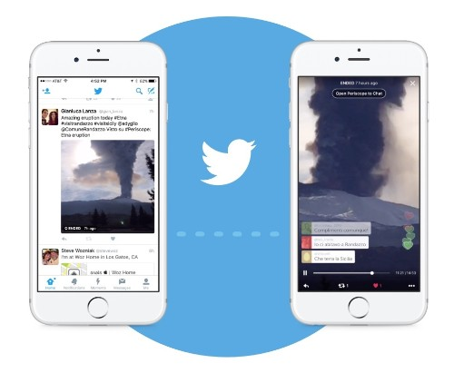Twitter adds button to Android app for launching Periscope broadcasts