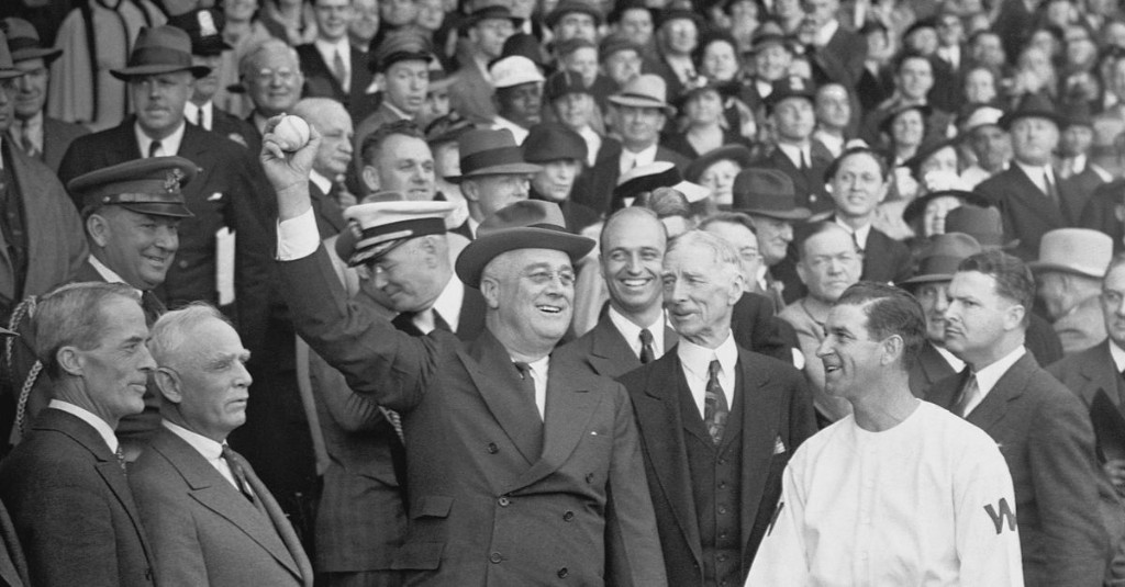 What happened the last time the World Series was in D.C. in 1933