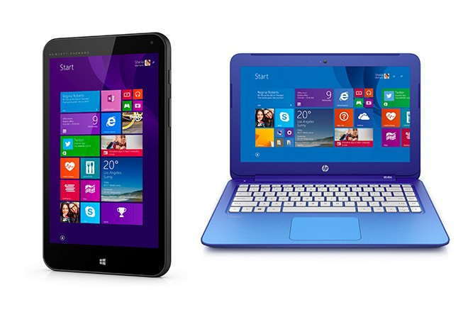 HP joins Microsoft's Chromebook and Android assault with $199 laptop and $99 Windows tablet