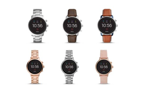 Fossil's latest smartwatches have Google Pay, heart-rate tracking, and GPS