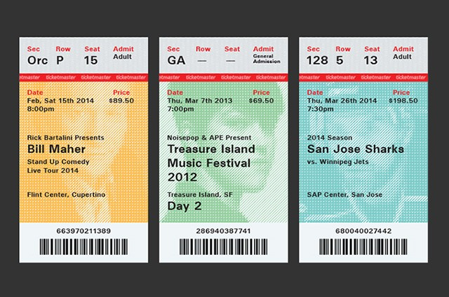 The trouble with Ticketmaster is all the tickets