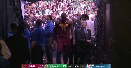 Boston fans booing LeBron's injury are the latest reminder you should never, ever do that