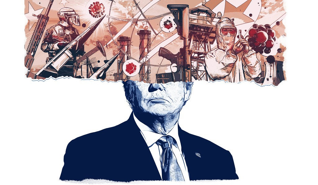 The president's job is to manage risk. But Trump is the risk.