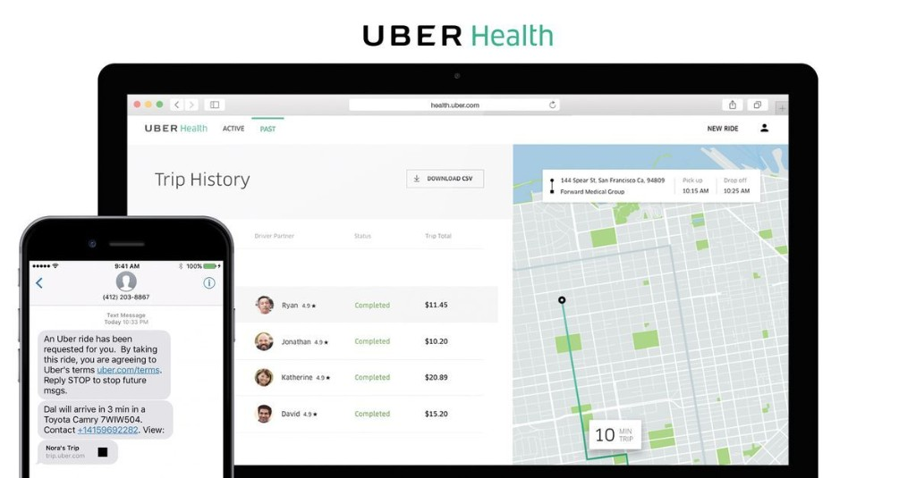 Uber is driving patients to their doctors in a big grab for medical transit market