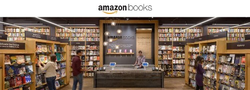 Amazon is opening its first physical bookstore today