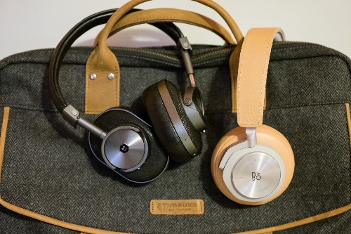These wireless headphones combine luxury with convenience