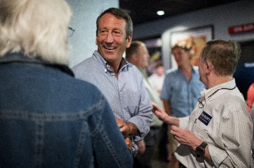 Mark Sanford is willing to run against Trump for president if people start talking about the debt