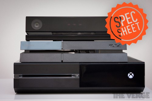 Spec Sheet: comparing the Xbox One, PlayStation 4, and Wii U
