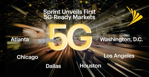 Sprint is preparing six cities for 5G with Massive MIMO antennas