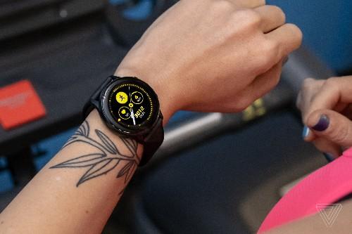 Samsung Galaxy Watch Active review: less fun but still a good time