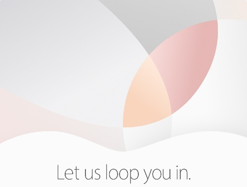 Apple announces iPhone and iPad event for March 21st: 'Let us loop you in'