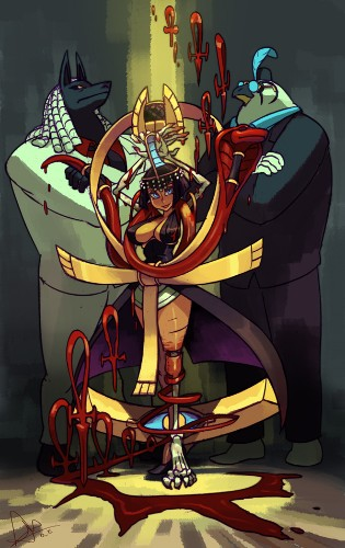 Skullgirls fourth DLC character is blood-controlling Eliza