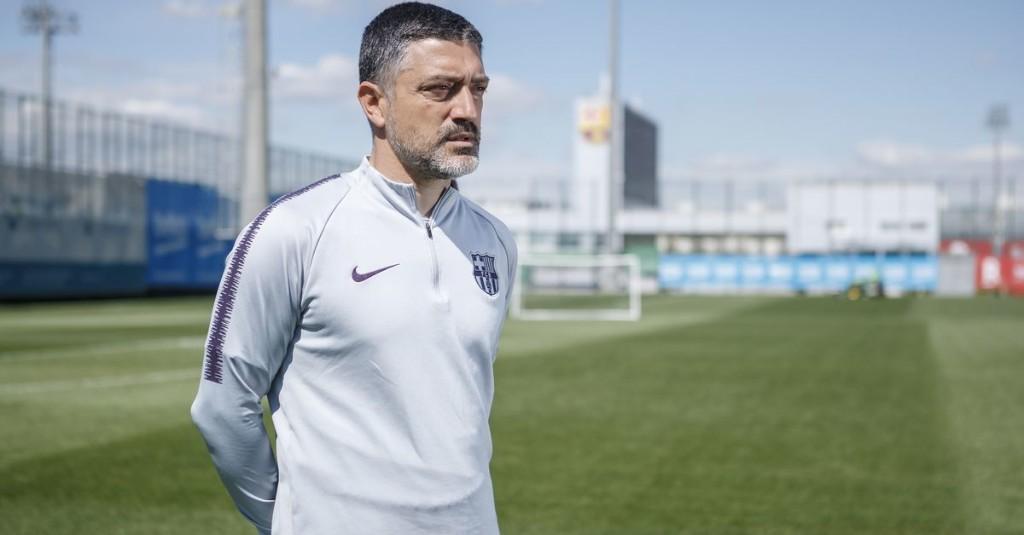 Garcia Pimienta signs on at Barcelona B