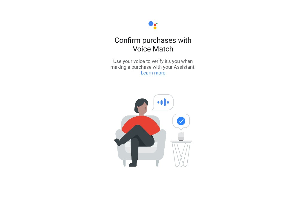 Google tests voice matching to secure Google Assistant purchases