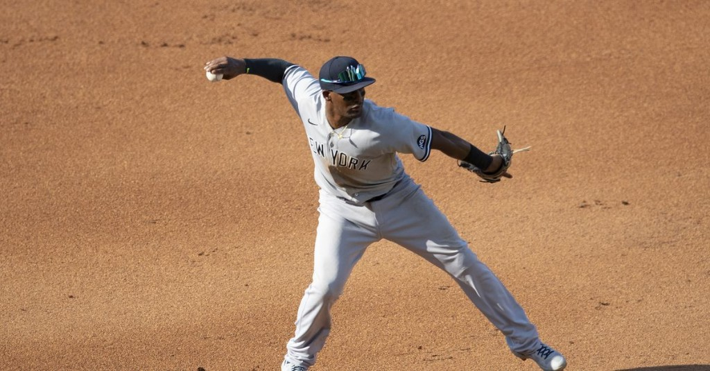 Doubles, defense, and demotion: On Miguel Andújar's fall off the Yankees' roster