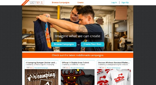 Redditmade is Reddit's new crowdfunding site