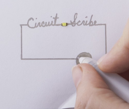Rollerball pen turns doodles into working circuits