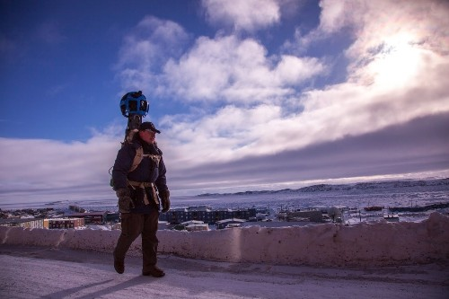 Mapping the arctic with Google Street View