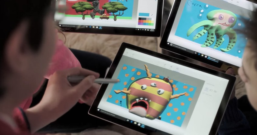 Microsoft announces Paint 3D, the biggest update ever to the classic app