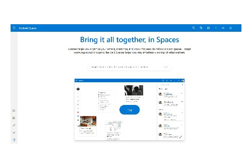 Leaked video reveals Microsoft's new Outlook 'Spaces' feature