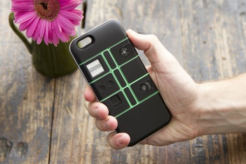 The Nexpaq modular smartphone case will let you add lasers to your mobile