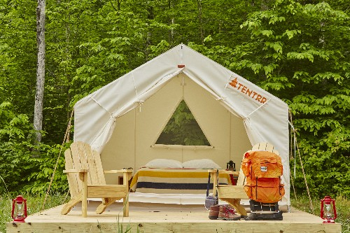 Tentrr makes camping easy with furnished campsites