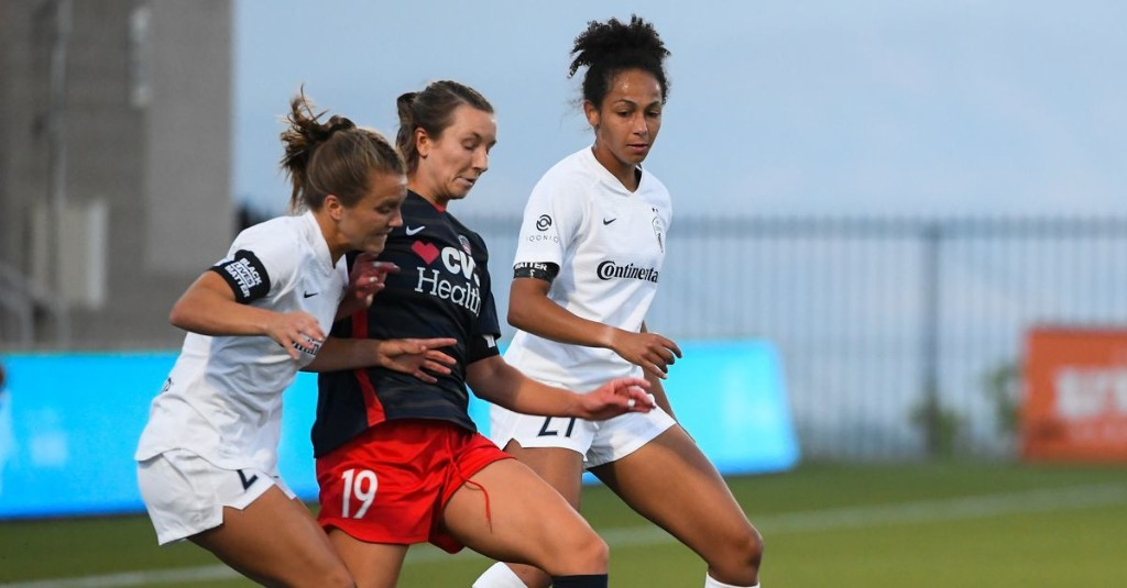 Recap: Spirit can't contain NC Courage in 2-1 Challenge Cup defeat