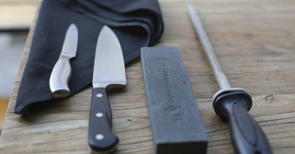Want to Sharpen Your Knives Like a Professional? Here's Where to Start