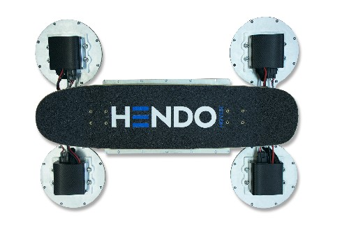 This is the new version of the Hendo hoverboard