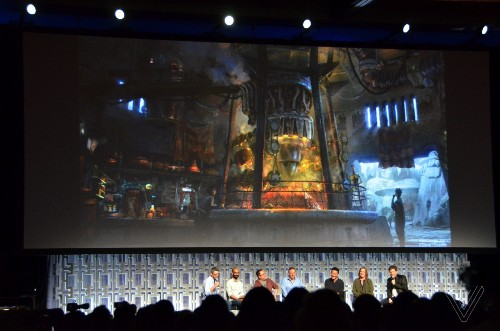 Watch the creation of Disney's ambitious and immersive Star Wars land