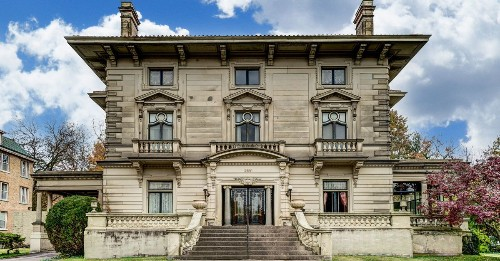 Lavish Beaux Arts mansion now asking $575K
