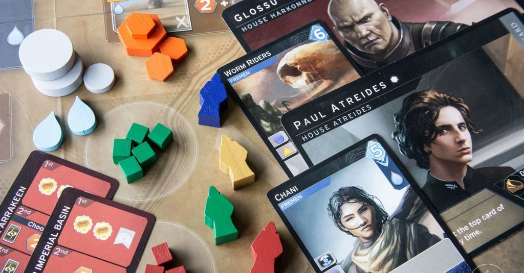 The new Dune board game is quick and merciless