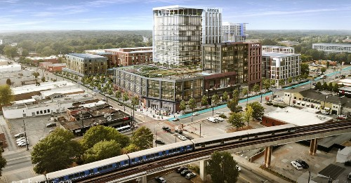 Vision unveiled for West End Mall's rebirth as mixed-use 'opportunity zone'