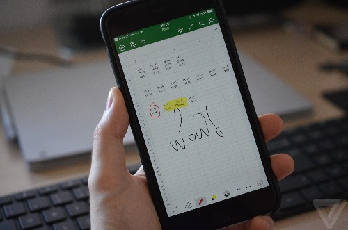 Microsoft Office for iPhone gets drawing support for your fingers