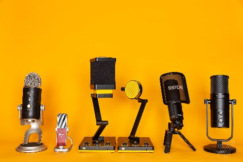 The best microphones to start podcasting with