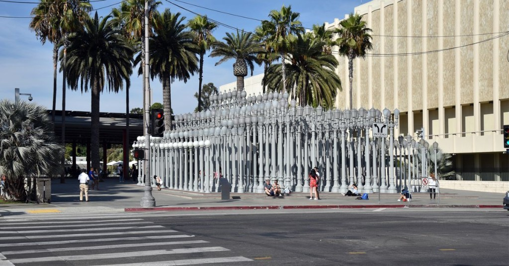 LACMA is being torn down right now