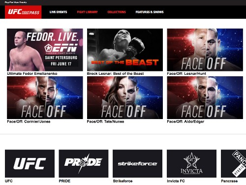 How the UFC became the Netflix of combat