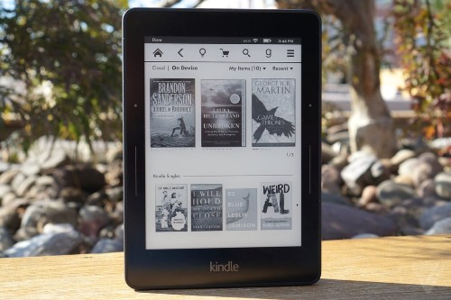 The new Kindle Voyage e-reader is shockingly good