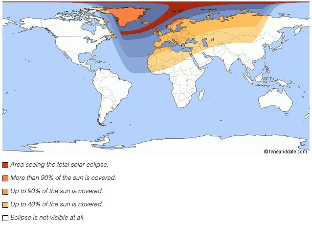 Where to watch today's solar eclipse