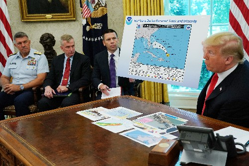 Furious storm over Trump's tweets continues to rage at NOAA