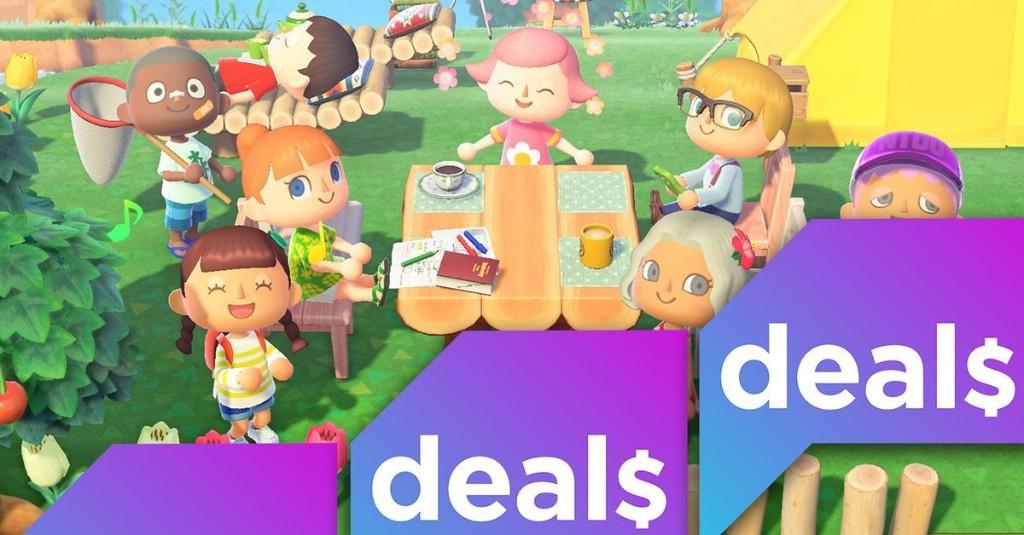GameStop offers Nintendo Switch Lite starter bundle with Animal Crossing, $20 eShop gift card