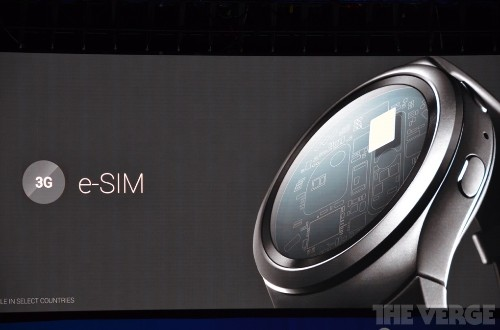 Samsung's Gear S2 has the first certified eSIM that lets you choose carriers