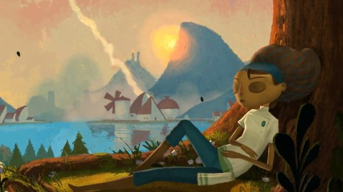 Double Fine teases the storybook world of its Kickstarter game 'Broken Age'