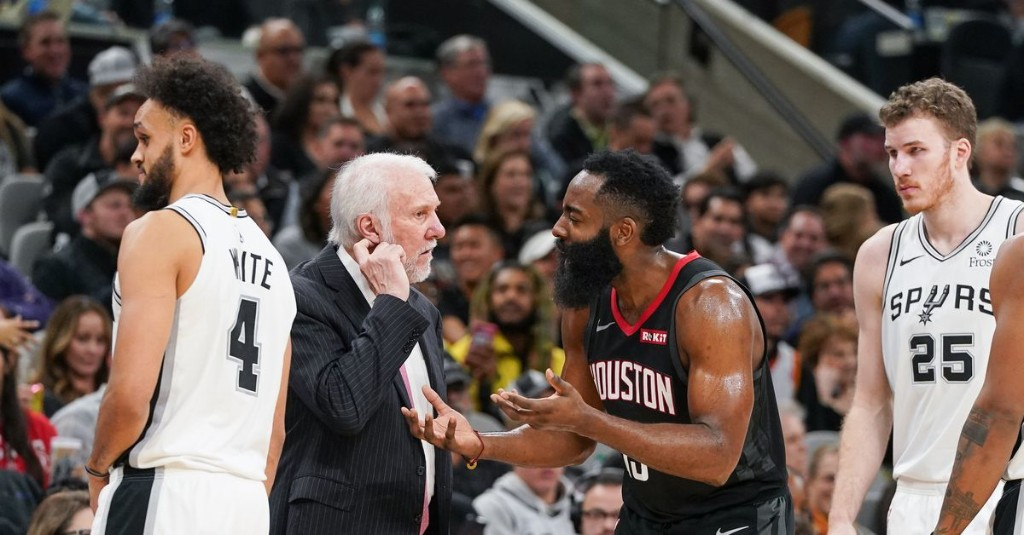 James Harden got jobbed and now the Spurs might get jobbed, too