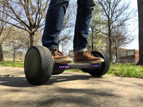 Mark Cuban's hoverboard will hit Kickstarter in April