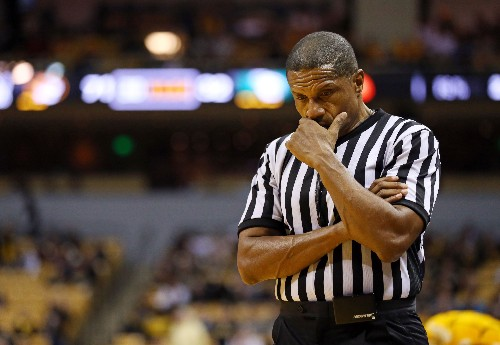 Big Ten removes referee Ted Valentine from 2 games after turning his back to UNC player